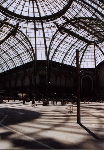 the glass house le grand palais paris france july 2006 sylvie ruzzin photogallery. Black Bedroom Furniture Sets. Home Design Ideas